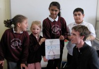 The Avondale Primary School Creators with Clark