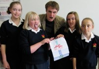 The Cheam High School Creators with Clark