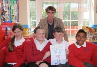 The Downderry Primary School Creators with Clark