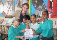 The Riversdale Primary School Creators with Clark