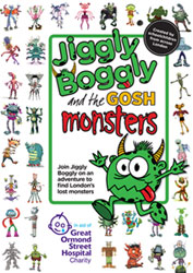 Gosh Monster Book